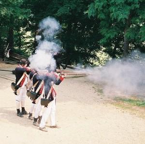 Soldiers at Yorktown